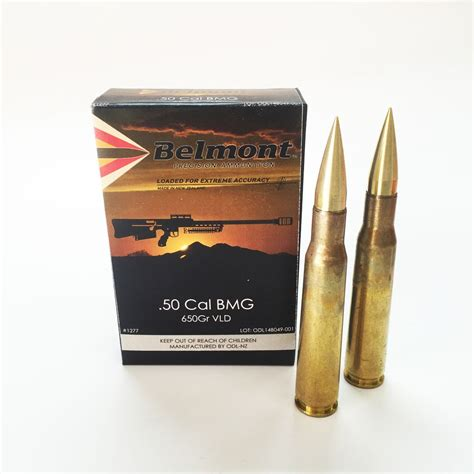 50 Bmg Projectiles by 50 Cal Bmg 650gr Vld Woodleigh Projectile 10 Rounds