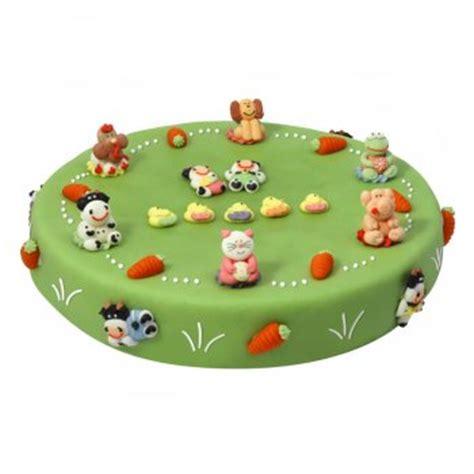 g 226 teau les animaux de la ferme 216 28 cm 12 14 parts pour l anniversaire de votre enfant annikids
