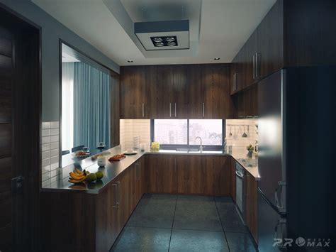modern apartment 1 kitchen Interior Design Ideas.