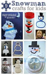 Pinterest Winter Snowman Crafts for Toddlers
