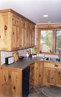 knotty pine cabinets Affordable Custom Cabinets - Showroom