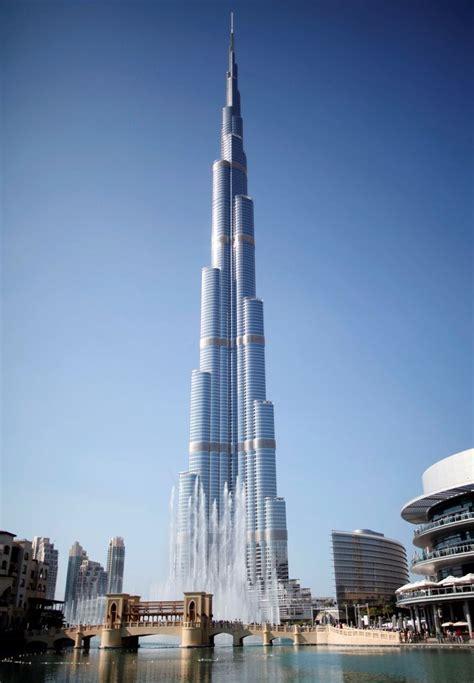 worlds tallest building burj khalifa dubai uae