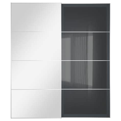 largeur d une porte fabulous pax cadre porte coulissante pces blanc largeur cm hauteur cm with