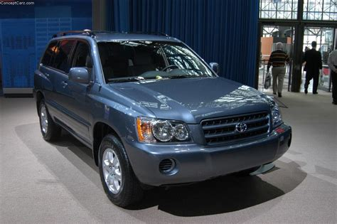 toyota highlander history pictures  auction
