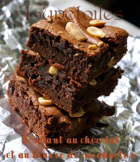 fondant au chocolat et au beurre de cacahu 232 tes amour de
