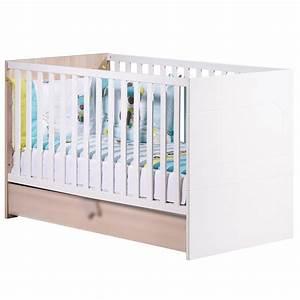 lit bb volutif aubert affordable meilleure offre uac lit With stickers chambre enfant avec prix matelas 160x190