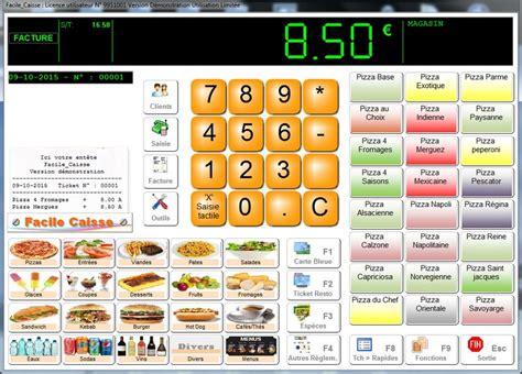 logiciel gratuit de cuisine logiciel pour caisse pizzéria