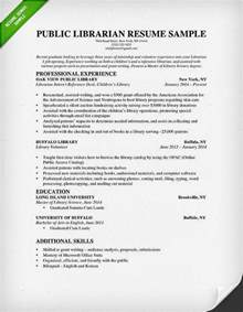 resume objective for librarian librarian resume sle writing guide rg