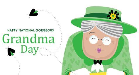 gorgeous grandma day  printable  calendar
