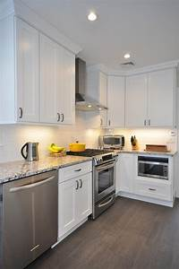 white shaker kitchen cabinets home furniture design With images of kitchens with white cabinets