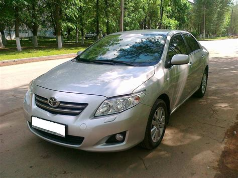 Toyota Corolla 2009 by Used 2009 Toyota Corolla Photos 1600cc Gasoline Ff