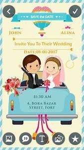 wedding invitation greeting cards maker app download With wedding invitation card maker app free download