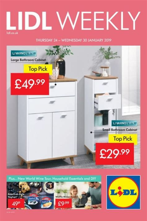lidl offers leaflet   january  lidl weekly