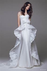 blumarine wedding dresses 2015 part 2 wedding inspirasi With over skirt wedding dress