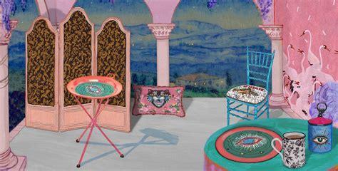 presenting gucci decor  collection  furniture