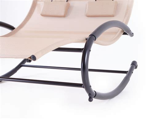 chaise rocking chair patio chaise swing rocker w canopy pool outdoor
