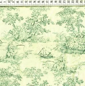 Toile De Jouy : toile de jouy motifs bleu vert fond cru roland besset l 39 incontournable du patchwork ~ Teatrodelosmanantiales.com Idées de Décoration