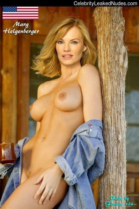 Marg Helgenberger Nude Nackt Hot Csi Sexy Fake Nue Desnuda Markie