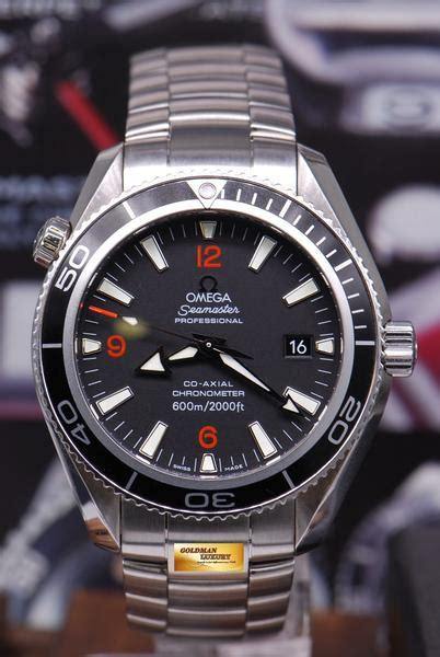 sold omega seamaster planet ocean mm  axial