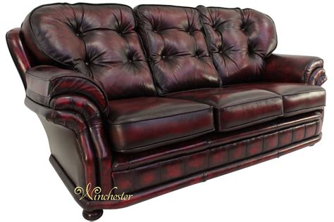Chesterfield Settee by Chesterfield Knightsbridge 3 Seater Settee Traditional
