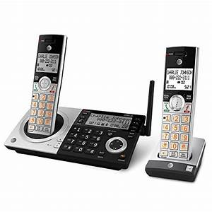 At U0026t Cl83207 Dect 6 0 Expandable Cordless Phone With Smart