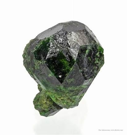Minerals Garnet Demantoid Irocks Mineral Major Sold