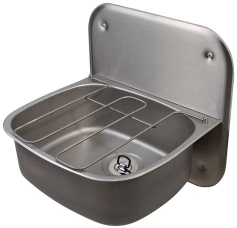 wall hung stainless steel sinks twyford ss 500 x 400mm wall hung bucket sink with