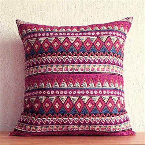bohemian pillow covers amazoncom