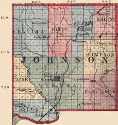 Johnson County Illinois Map
