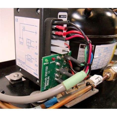frigoboat merlin ii automatic smart speed controller for danfoss 12v