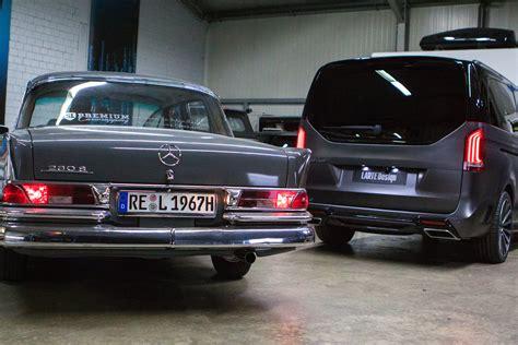 Larte Design To Show Mercedes Benz V Class Black Crystal