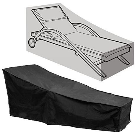 protection chaise fellie cover 82 inch patio chaise lounge covers durable