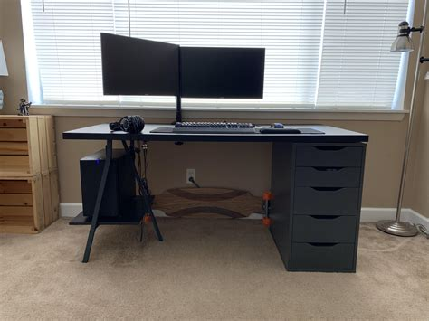 Ikea singapore for more than 70 years, we have worked to create a better everyday life for the many people. Ikea Computer Desk Hack   Wooden Cabinets Vintage