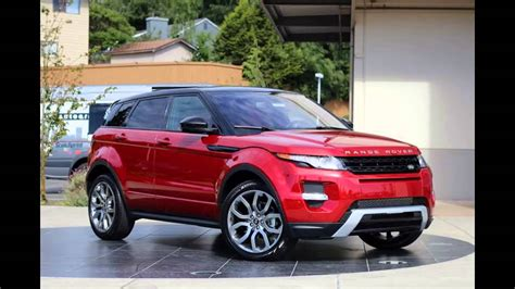 red land rover 2016 range rover evoque firenze red youtube