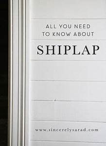 DIY Shiplap Inspired Wall Tutorial: An Easy and