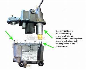 Mercury Mariner Vst Direct Fit Fuel Pump 20
