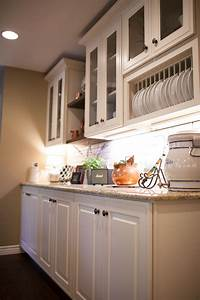 Farmhouse, Kitchen, With, White, Cabinets