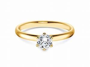 Tiffany Ring Verlobung : verlobungsring gelbgold 430613 diamant 0 50 ct ~ Orissabook.com Haus und Dekorationen