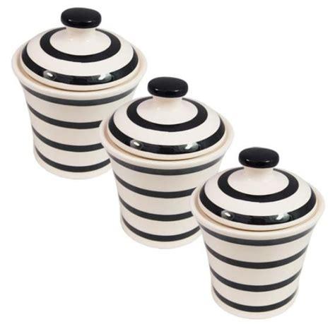 modern kitchen canister set jars canisters black
