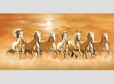 Vaastu Seven Horse Painting