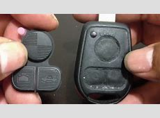 How To Replacet 3 Buttons Rubber Key Pad 9703 BMW E38 E39