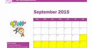 Free Printable September 2020 Calendar Free Printable September 2015 Calendar With Malaysia