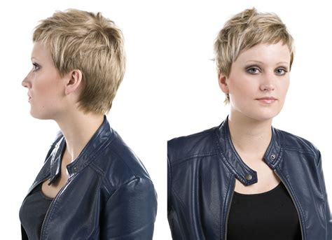Easy To Style Short Haircut That Wants To Be Touched