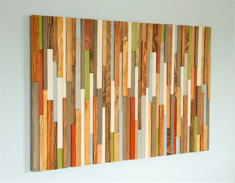 """30 Wall Decor Ideas For Your Home: Rustic Wall Art, Reclaimed Wood Wall Art 30"""" X 45"""", Earth"""