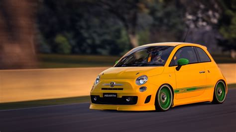 Fiat 500 Abarth Tune by Abarth 500 09 Team Shmo