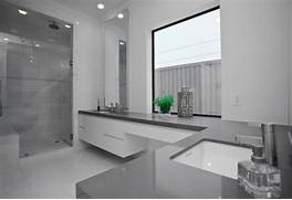 Bathroom Design Grey And White Graue Designs Badezimmer Idee Sp Le