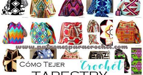 como tejer tapestry crochet tutoriales en espanol