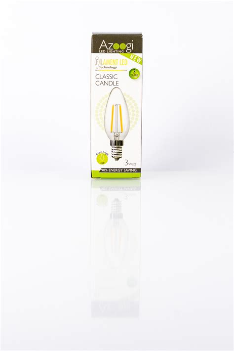Candele Led by Candle Led 3 Watt E14 Azoogi Led Lighting