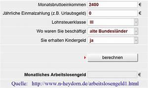 Arbeitslosengeld Berechnen : arbeitslosengeld i archives ~ Themetempest.com Abrechnung