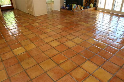 Saltillo Tile Sealer Based by Dusty Coyote Stripping And Sealing A Saltillo Tile Floor